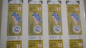 1985 Blue Jays  World Series Tickets  4 mint