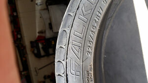 225/45zr17 falken tires. 70% left