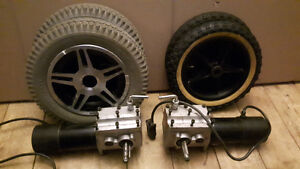 DC Motors for Robots, Battlebots, Power Wheelbarrow etc.