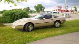 "(SOLD!) ""85"" Corvette Cheap on Insurance.No Emissions...."