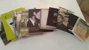 Lot de 7 livres, 5 livres de partitions, 1 magazine