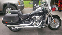 MINT,MINT WITH EXTRAS 2009 VULCAN 900 CRUISER
