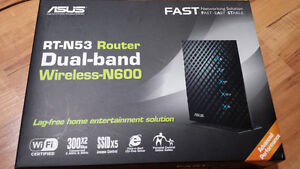 Asus Rt-N53 Router Dual Band Wireless -N600