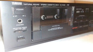 YAMAHA VINTAGE HIGH END CASSETTE DECK GUARANTEED