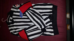 3 referee jerseys and CCM pant