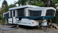 Coleman Tent Trailer - Make Payments  -own it by summer 2016