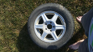 Used tires formerly on 2003 Oldsmobile alero