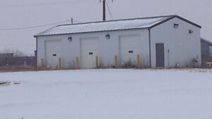 3 Bay Heated Shop For Lease
