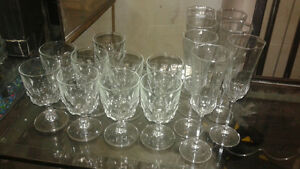 wine glasses(tumblers & stem ware) also beautiful wine rack Belleville Belleville Area image 1