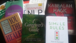 50 self-help and natural healing books for $200