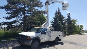 2007 Ford 450 Super Duty 37' Bucket Truck $23,000 OBO