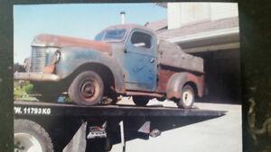 1947 International Harvester KB.1 Pick-Up // Ready to Rebuild