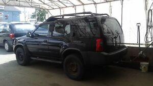 2003 Nissan Xterra noir VUS