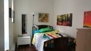 Cozy, sunny 4 1/2 to share in NDG near Vendome metro for July