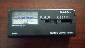 Seiko Quartz Guitar Tuner