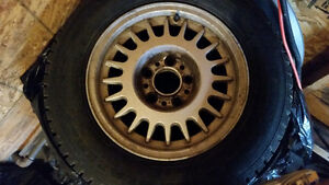 BMW Rims and Tires 215/65R15