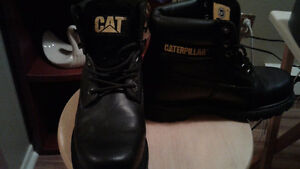 Cat oil resistant boots (not steel toe) 8 in high new boot