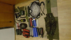 Tippmann A5 and everything needed to play