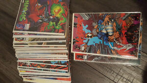 Spawn comic books!