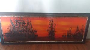 RARE Van Gaurd Drip Painting