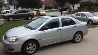 2007 Toyota Corolla SE - LOW KMS, EXCELLENT CONDITION