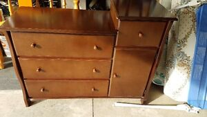 babies are us wardrobe dresser.and furniture crib. single bed