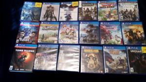Selling ps4 games all best offer