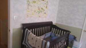Crib in excellent condition rarely used