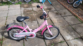 Girls bicycle age 5-7 years