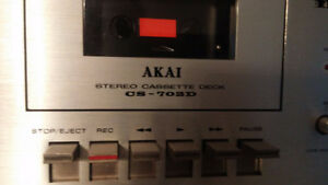 AKAI Audio cassette deck CS - 702D