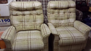 Love seat and chairs