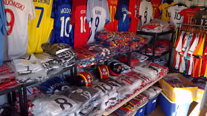 SOCCER JERSEYS! MESSI, RONALDO, POGBA & MORE! TOP THAI QUALITY!