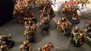 Painted 40k Chaos army, trade for X wing? London Ontario image 3