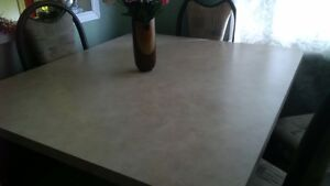 dining table + chairs Kitchener / Waterloo Kitchener Area image 1