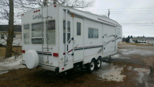 Rent this 5th wheel trailer and make some memories today.