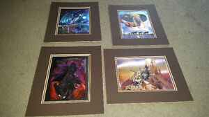 4 awesome rare 3D hologram / psychedelic pictures only $10 each.