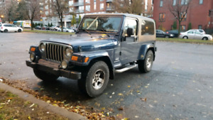 (RARE) 2005 Jeep TJ Unlimited (very clean)
