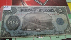 1912 train note very very RARE!! in great condition for its year London Ontario image 2
