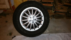 Snow Tires And Rims Excellent Condition
