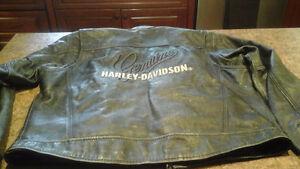 Casque et manteau de moto Harvey -Davidson