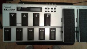 roland midi controller fc300
