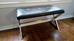 Modern hallway/foyer bench in perfect condition
