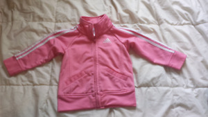 Girls 2T Adidas track sweater