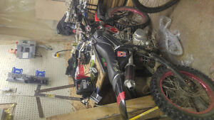 Customized 200cc pit bike