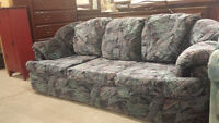Chesterfield & Matching Love Seat