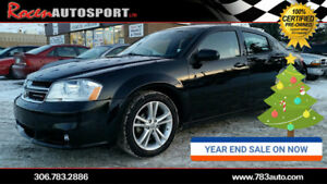 YEAR END SALE!! CERTIFIED 2012 AVENGER SXT - HTD SEATS - YORKTON