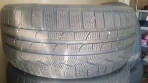 Staggered 245.50.18 and 275.45.18 Pirelli Winter Tires, $120!!!!