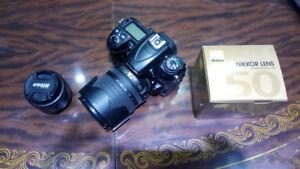 Very good condition Nikon D7000 + 18-105mm + 50mm f/1.8D