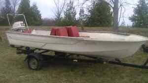 Boat, Motor & Heavy Duty Trailer