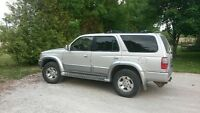 1998 Toyota 4Runner Limited Edition SUV, Crossover